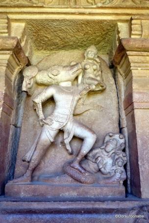 Bhu Varaha - Durga Temple, Aihole
