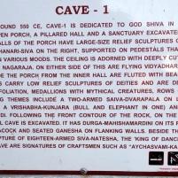Cave 1 - ASI Details