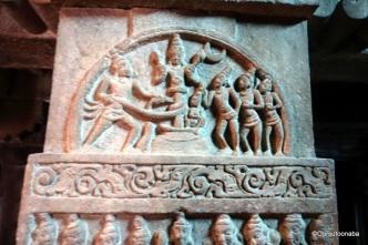 Churning of Ocean - Mallikarjuna Temple, Pattadakal