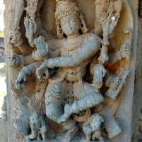 Shiva killing Gajasura