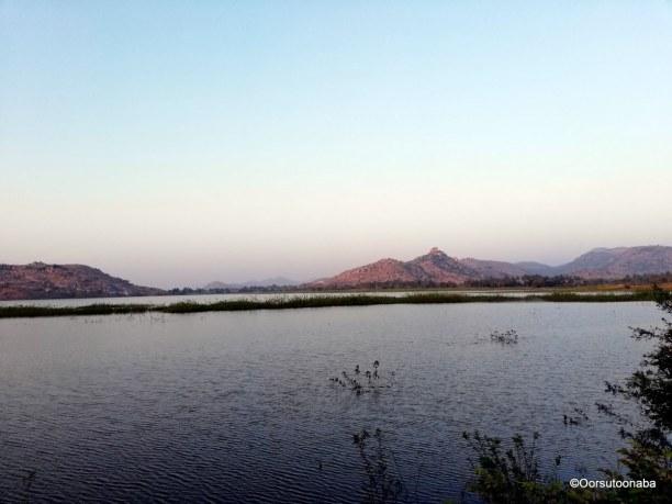 Lake on the way to Dandiganahalli dam