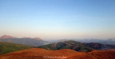 Neelakasham, paccha maram, chevandha bhumi (blue sky, green trees, red earth) - Kyatanamakki view point