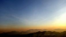 A splash of orange - Kyatanamakki view point