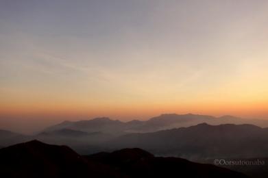 Rolling hills - Kyatanamakki view point