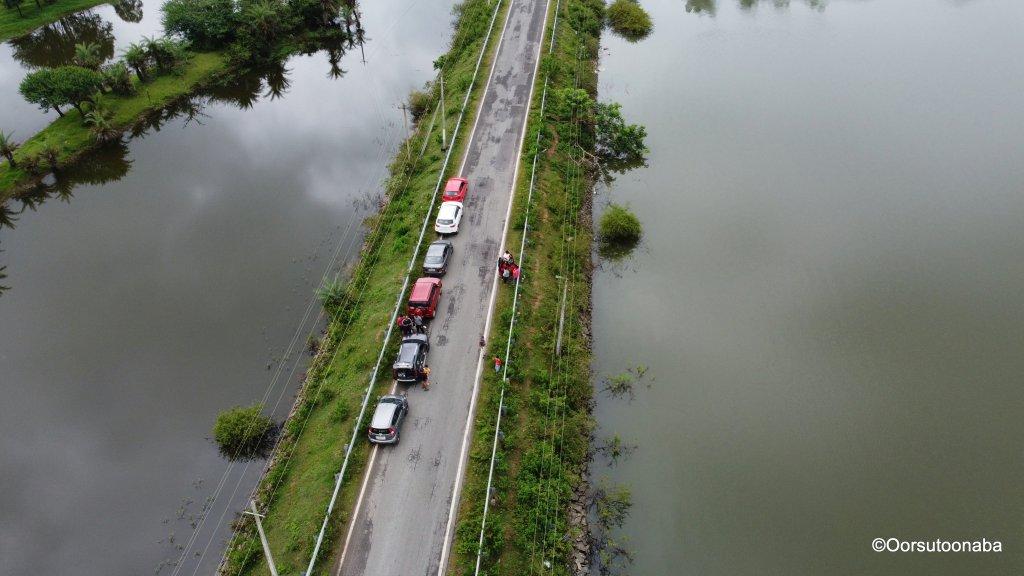 Gorur dam backwaters